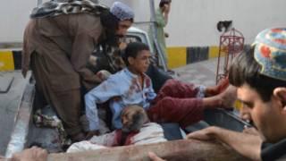 ကွာတာမြို့ တိုက်ခိုက်မှုမှ ဒဏ်ရာရသူများ