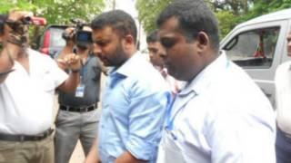 Ravindu Gunawardene broght to court on Friday