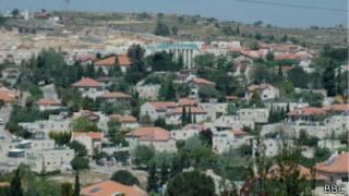 مستوطنات فلسطينية