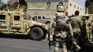 قوات أمنية عراقية