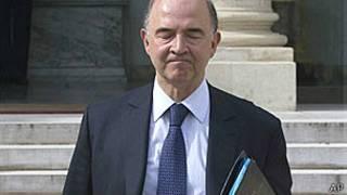 Bộ trưởng tài chính Pháp Pierre Moscovici