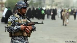 Soldado no Iraque