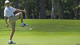 बराक ओबामा छुट्टी पर