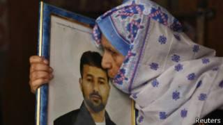 Мать палестинского заключенного