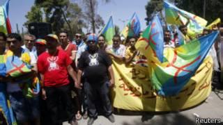 Демонстранты-берберы в Ливии