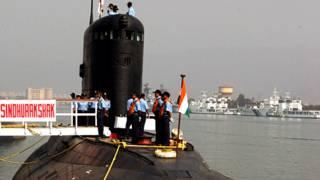 भारतीय नौसेना की पनडुब्बी सिंधुरक्षक