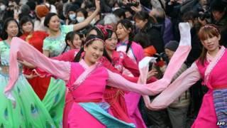 現在有超過70萬的中國人居住在日本