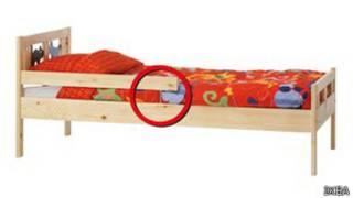 Детская кровать модели Kritter