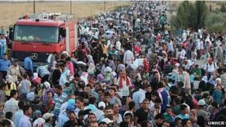 Người tị nạn đổ vào vùng Kurdistan của Iraq