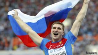 Россиянин Дмитрий Тарабин