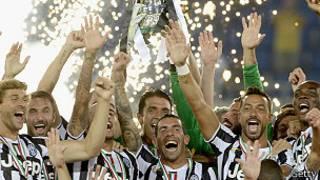 يوفينتوس يؤكد هيمته على كرة القدم الايطالية