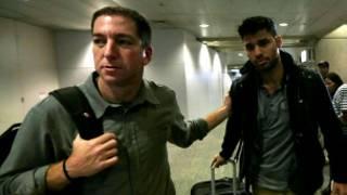 Mr David Miranda da abokin aikinsa Glenn Greenwald