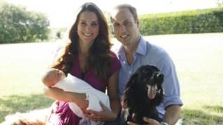 принц Джордж, Кейт Миддлтон, Уильям, ребенок