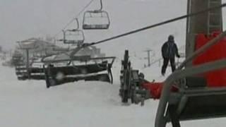 Cáp treo dành cho khách trượt tuyết