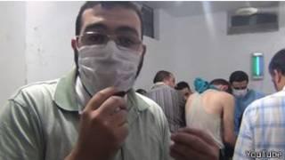 受傷敘利亞人