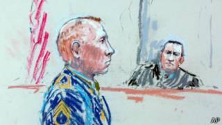 Роберт Бэйлс в суде