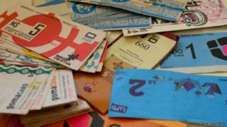 Cubo cards e outras moedas sociais do coletivo Fora do Eixo / Divulgação