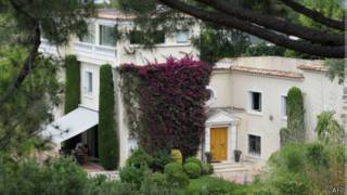位於尼斯戛納的楓丹·聖喬治別墅(資料照片)