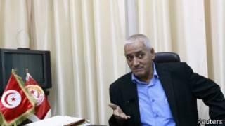 الأمين العام للاتحاد العام التونسي للشغل، حسين العباسي