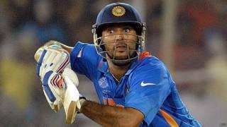 भारतीय क्रिकेटर युवराज सिंह