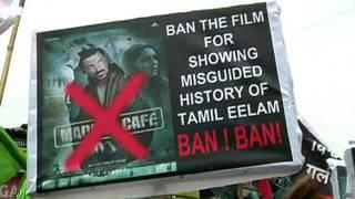 मद्रास कैफ़े फिल्म का खासा विरोध हो रहा है