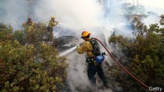 Лесные пожары достигли Йосемитского национального парка