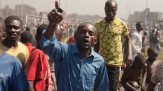Manifestation à Goma (Archives)