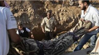enterro na Síria | Reuters
