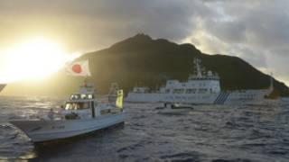 Las islas son controladas por Japón