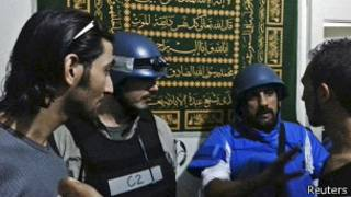 Инспекторы ООН встречаются с сирийцами