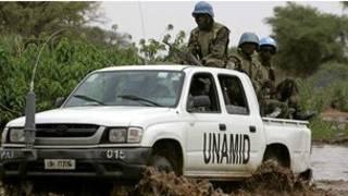 قوات حفظ السلام في السودان