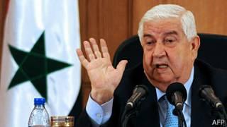 Walid al Muallem, canciller de Siria
