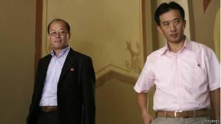 دبلوماسيان كوريان شماليان في بنما