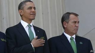 بوهنر و اوباما
