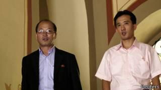 Diplomáticos norcoreanos en Panamá