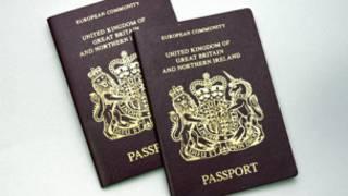 جوازات سفر بريطانية
