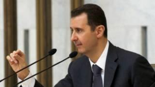 Shugaban kasar Syria Bashar Al'assad
