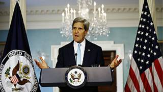 John Kerry akizungumza juu ya Syria akiwa Marekani