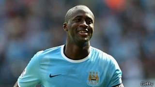 Yaya Toure wa Man City