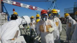 Inspección a la planta de Fukushima tras la fuga