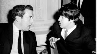 David Frost con Paul McCartney en 1965