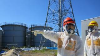 Usina nuclear de Fukushima   Foto: AFP