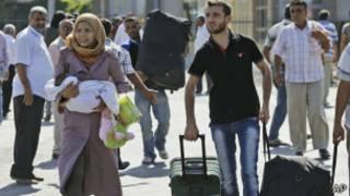 آوارگان در اردوگاه زعتر اردن