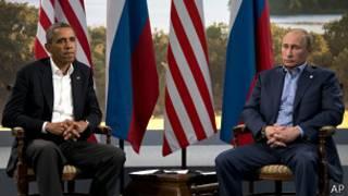 Обама, Путин