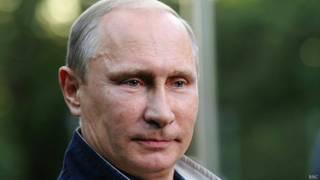 रूस के राष्ट्रपति व्लादिमीर पुतिन