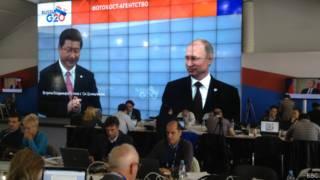 Владимир Пуьтн и Си Цзиньпин