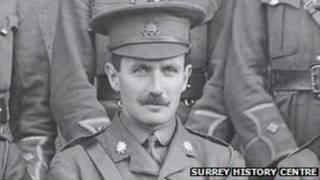 युद्धबंदी कैप्टन रॉबर्ट कैम्पबेल, प्रथम विश्वयुद्ध