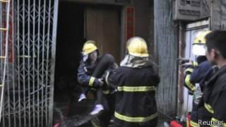 Поджог фабрики в Шаньтоу