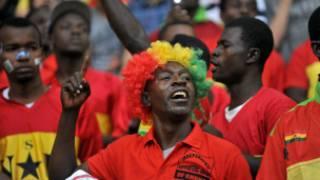 Masu yiwa 'yan wasan Ghana kirare
