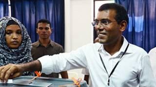 Nashid, líder de la oposición en Maldivas